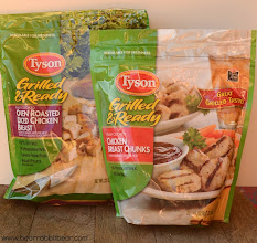 Photo: I did purchase two bags of frozen Tyson chicken for myself.
