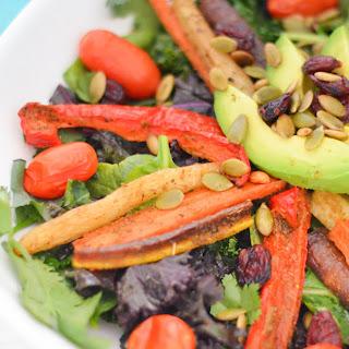 Cumin Roasted Vegetable Salad.