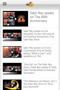 The Sabir Bey Show- screenshot thumbnail