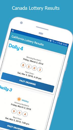 California Lottery Results 1.1 screenshots 3