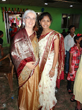 Photo: Naomi & Suzane. The Indian Sarri that Naomi is wearing was a special gift from Suzane and her family.