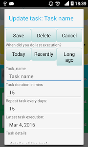 Recurring Tasks screenshot 1