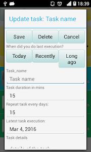Recurring Tasks screenshot 1