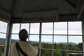 Photo: Mountain views from the fire tower at Allis State Park by Alexa Collesides