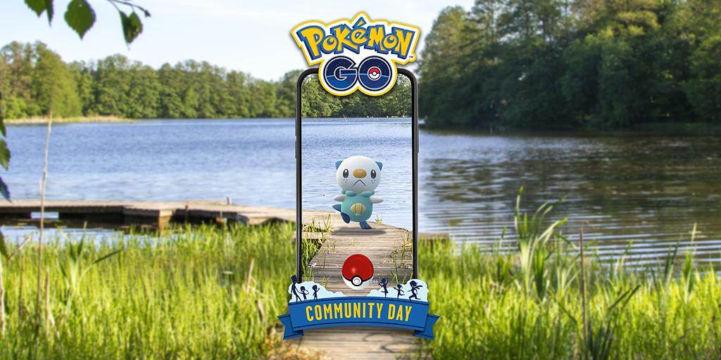 September Community Day: Osha-watch out—the Sea Otter Pokémon, Oshawott, will be featured!