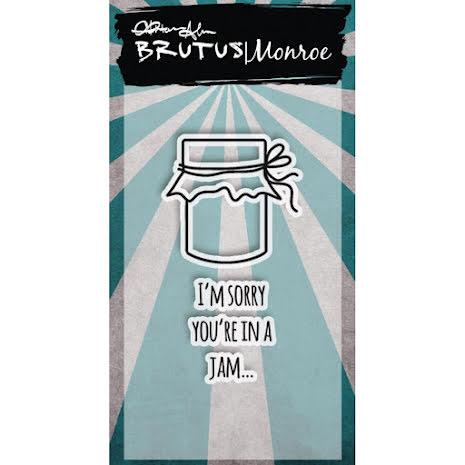 Brutus Monroe Clear Stamps 2X3 - Jam UTGÅENDE