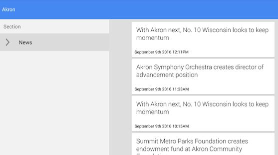 Akron News - náhled