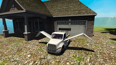 Flying Car Free: Truck Pilot 4 screenshot 711582