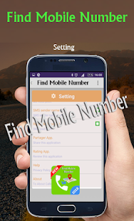 Find mobile number - náhled