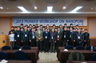 Photo: 2013 Pioneer Workshop on Nanopore at Seoul National University