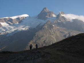 Photo: L'Aiguille des Glaciers.