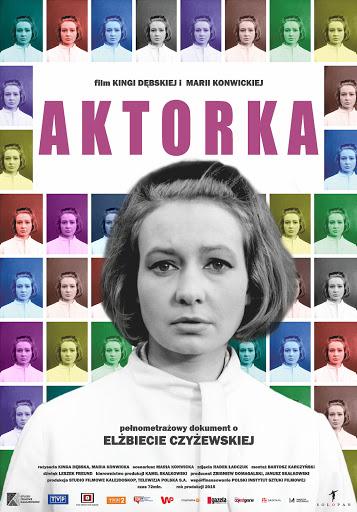 Polski plakat filmu 'Aktorka'