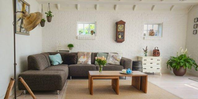 7 ý tưởng trang trí phòng khách mang sắc thái tự nhiên