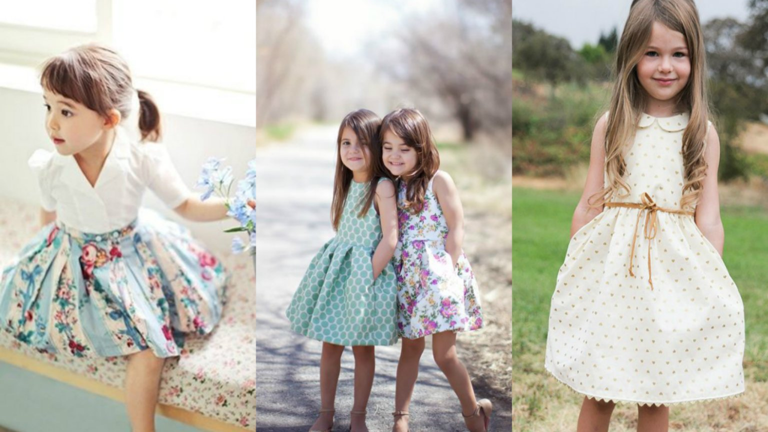 Sukienki dla dziewczynek do przedszkola