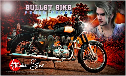 Bullet Bike Photo Frames - náhled