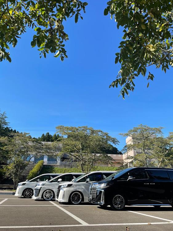ヴェルファイア AGH30Wの変態MT,みちのく杜の湖畔公園 MT,帰宅は午前3時すぎ💦,流石にハードスケジュールすぎた😂,ほぼ24時間起きっぱなし🤭に関するカスタム&メンテナンスの投稿画像5枚目