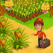 Farm Paradise: Fun farm trade game at lost island