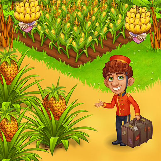 Farm Paradise: Fun farm trade game at lost island