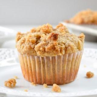 Banana Brown Sugar Crumb Muffins #Guestpost Recipe