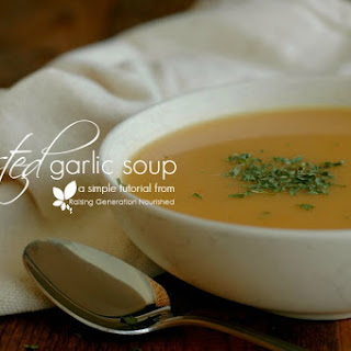 Beef Roasted Garlic Soup Recipes