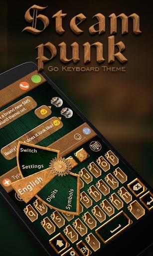 Steam Punk Keyboard Theme