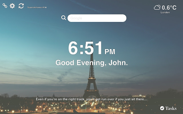 Paris HD Wallpapers New Tab Themes