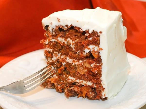 Carrot Apricot Cake Recipe