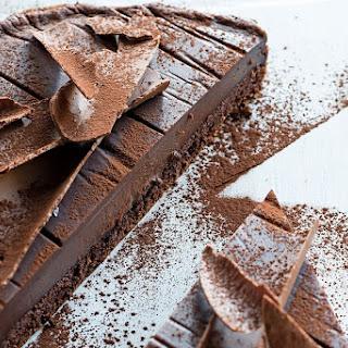 Chocolate Custard Cake.