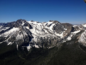 Photo: Closeup of Sawtooth Range, Looking South West Near Stanley, ID