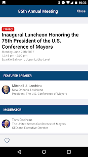 United States Conference of Mayors- screenshot thumbnail