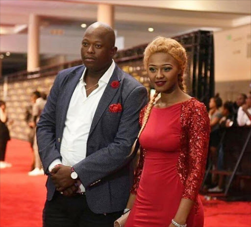 Babes Wodumo and long-time boyfriend Mampintsha.