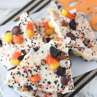 Candy Corn Candy Bark