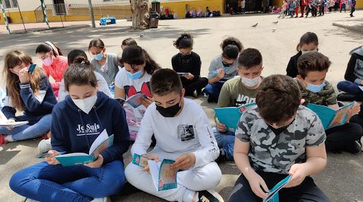 Los alumnos del CEIP Indalo se convierten en escritores gracias a 'Súper Marta'