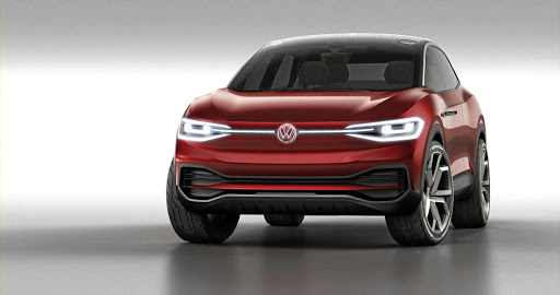 Volkswagen showed its ID Crozz concept.     Picture: NEWSPRESS UK