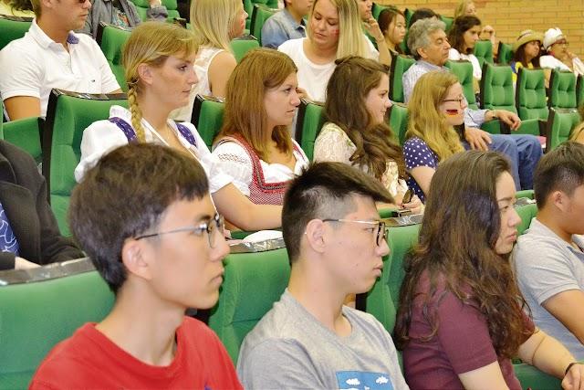 Alumnos extranjeros en la UAL.