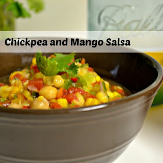 Chickpea and Mango Salsa.