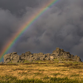 Hound Tor by Nigel Bowsher - Landscapes Mountains & Hills