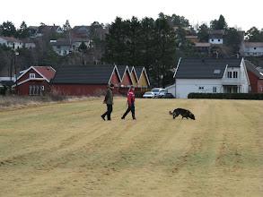 Photo: Sportrening i Søgne, deilig sørlandsk vinter...