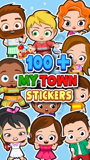 My Town : Sticker Book 1.02 screenshots 2