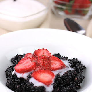 Sweet Black Rice Pudding