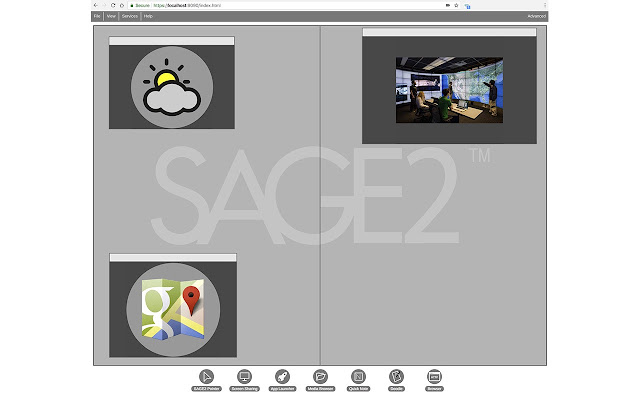 SAGE2 Screen Capture