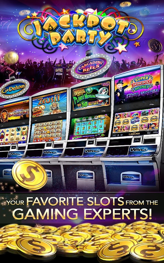 Screenshots of Jackpot Party Casino Slots 777 for iPhone