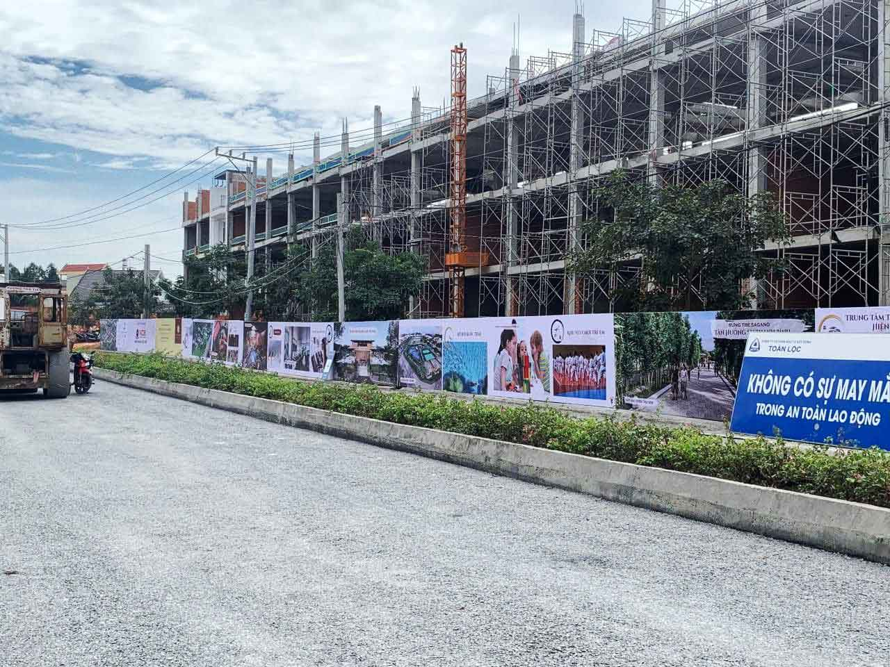 Dự án nhà phố Takara Bình Dương được đầu tư thiết kế hiện đại