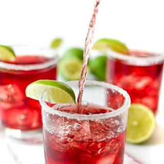 Cranberry Margaritas.