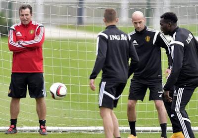 """Wilmots: """"Pas trop grave pour Hazard"""""""