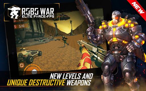 Real Robots War Gun Shoot: Fight Games 2019 1.1.3 screenshots 9