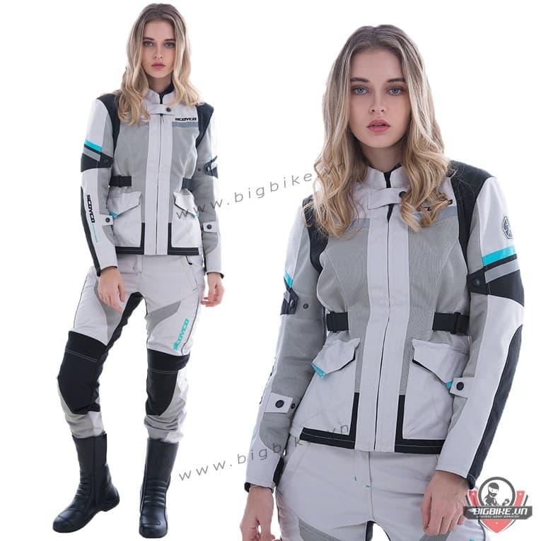 Hình ảnh quần áo bảo hộ nữ chất lượng