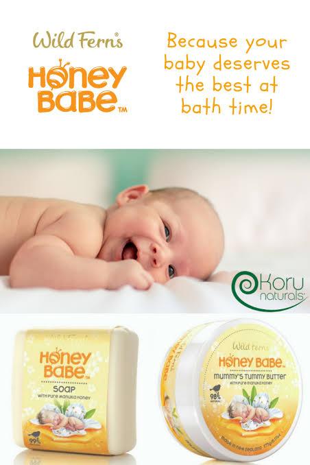 1. WILD FERNS สบู่ก้อนสำหรับเด็กสูตร Honey Baby Soap