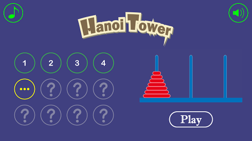 Screenshot for Hanoi Tower Pro in United States Play Store