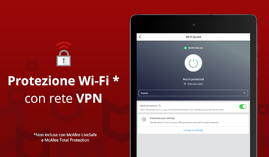 Mobile Security: proxy VPN e WiFi sicuro antifurto Screenshot